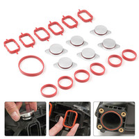 Wholesale auto key kit for sale - Group buy Dynoracing X33mm Auto Replacement Parts for BMW M57 Swirl Blanks Flaps Repair Delete Kit with Intake Gaskets Key Blanks