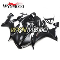 ingrosso yamaha yzf r1-Pannelli di motocicli per Yamaha YZF1000 R1 2004 2005 2006 YZF R1 Complete Aftermarket Motorcycle ABS Carrozzeria Black Bike Fairing