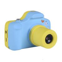ingrosso foto carine di natale di natale-5.0MP Bambini Fotocamera digitale Schermo LCD da 1,5 pollici Design carino Mini fotocamera Regalo di compleanno di Natale Piccolo SLR Photo Video