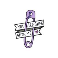 jaquetas de crianças roxas venda por atacado-Purple Heart Needle Pin Broche Crachá Decorativo Crianças Duro Esmalte Coleção Botão Colar Decoração Bolsa Crianças Jaqueta Denim Chapéu Acessório