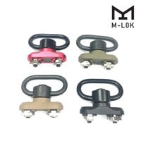 Wholesale tactical gear sling for sale - Group buy M LOK Standard QD Sling Swivel Adapter Rail Mount Kit QD Swivel Included Tactical gear hunting accessories