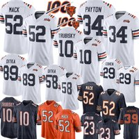ours de football maillot achat en gros de-52 Khalil Mack 34 Maillot Walter Payton Chicago Bears 10 Maillot Mitchell Trubisky 58 Roquan Smith 89 Mike Ditka Tarik Cohen Urlacher