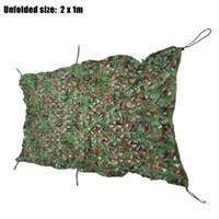 askeri kamuflaj filesi avlamak toptan satış-M x 2 M Askeri Ordu Avcılık Kamp Çadır Araba Kapak Kamuflaj Net Netleştirme