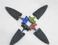 ingrosso ce campeggio coltello-Nuovi Utensili a mano Multifunzionale Mini Collana a sospensione Coltello protable Outdoor Camping Knife Rescue Survival Tool