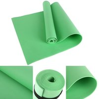 esteras gimnasio  al por mayor-New Thick 10MM Yoga Mats 183X60 Pilates Fitness Body Building Mat Non-slip Gym Exercise Dancing Pad For Beginners Men Women Tapete FY6016
