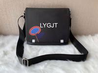 neue echte tasche großhandel-New Genuine Leather Bags Umhängetasche Messenger Bag Leder Bürotaschen für Männer Dokument Aktentasche Reisetaschen