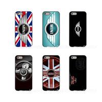 iphone mini 5c fälle großhandel-Mini logo hard phone case abdeckung für apple iphone x xr xs max 4 4 s 5 5 s 5c se 6 6 s 7 8 plus ipod touch 4 5 6