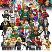 Wholesale mini brick figures for sale - Group buy Building Blocks Super Hero Figures Toys The Avengers Marvel Toys Toys mini Action Figures Bricks minifig Christmas gifts