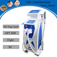 Wholesale hair korea online - elight ipl machine permanent hair removal rf korea face lifting ndyag laser tattoo removal machine clinic use