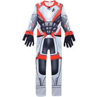 Wholesale o costume for sale - Avengers Endgame D Print Rompers Super hero Jumpsuits Men teenager long sleeve Cosplay Costume C6439
