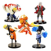 Wholesale minato figure resale online - 5styles cm Naruto Figure Ninja Minato Jiraiya Hyuga Naruto Kurama Shippuden Pvc Action Figure Toy Collectible Model Gift Y190604