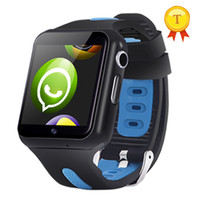 android gps kamera 3g toptan satış-android için Dokunmatik Ekran sim kamera 16gb tf kartı ile 2018 Yeni Çocuklar Akıllı İzle Telefon WIFI 3G Çocuk Takip GPS İzle