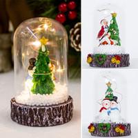 Wholesale unique ornament for sale - Group buy Christmas LED Lantern Christmas Light Lamp LED Lampshade Unique Creative Resin Plastic Props Ornament Hotel Desktop
