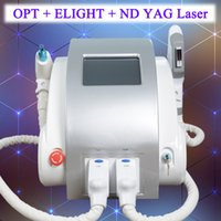 bruststraßenausrüstung großhandel-ND YAG Laser Tattoo Entfernung Maschine Shr IPL Haarentfernung Elight Brust heben multifunktionale Beauty Equipment