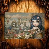 pop ölgemälde großhandel-(Ungerahmt / Gerahmt) Mark Ryden, Pop Surrealismus The Gay -03, HD Gedruckte Ölgemälde Home Wanddekorkunst auf Leinwand Spielkarten 24x36.