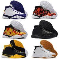 1569685cd554 Last Kobe 1 Protro Air Basketball Shoes Men White Close Out Mamba Protrotv Undefeated  UND Fade Devin Booker PE Designer Sport Shoe Sneaker