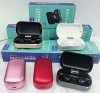 caixa dh venda por atacado-Novo S8 TWS Bluetooth Fone De Ouvido 5.0 Com Cancelamento de Ruído Estéreo Sem Fio Head Phone Earbuds Caixa De Carregamento Para Smartphone Livre DH