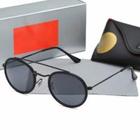 Wholesale gafas sunglasses resale online - Free Ship New Round Sunglasses Men Women Brand Design Sunglasses For Men Women Oculos De Sol Feminino Gafas Sports Drive Glasses