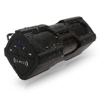cargadores de altavoz potenciados al por mayor-PT-390 Nueva Función de Cargador Estéreo Bluetooth Inalámbrico Inalámbrico al Aire Libre 4.0 Cargadores Estéreo Banco de Potencia Subwoofer altavoz bluetooth