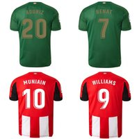 Wholesale kits resale online - 19 Athletic Bilbao Club Home soccer jerseys Aduriz Williams Sola Muniain soccer shirts man kids kit football uniform