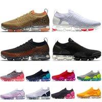 zapatos de mujer de leopardo rojo al por mayor-nike air vapormax 2019 2.0 Cojines para mujer zapatos para correr Leopard Negro Blanco Rojo Astilla Runners 2.0 de diseño zapatillas de deporte zapatillas de deporte