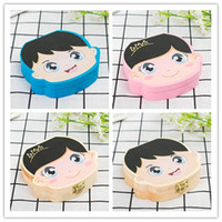 Wholesale classic girl painting resale online - Ins Baby Milk Teeth Container Kids Tooth Storage Box Save Designer Boys Girls Color Painting Wooden Organizer Deciduous Teeth Boxes C61406