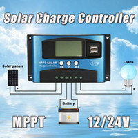 Wholesale solar charge regulators controllers for sale - Group buy 100A MPPT Solar Panel Regulator Charge Controller V V Auto Focus Tracking