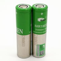 Wholesale electronic imr resale online - 100 High Quality IMR INR Battery Bestfire Green mah A V Rechargeable high magnification Electronic cigarette Batter