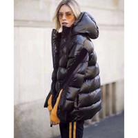 mulheres mais quentes jaquetas para o inverno venda por atacado-Mulheres Moda Casaco venda quente mulheres jaqueta casaco de inverno espessamento Feminino Roupas capuz jaqueta M561