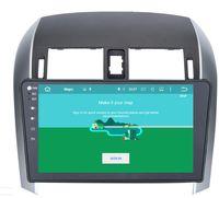 navigation dvd für toyota corolla groihandel-8-Core-Android 9.0 10.2inch Auto-DVD GPS Navi Audio für Toyota Corolla 2007-2013 Stereo Headunit-Monitor Multimedia GPS-Navigation Audio