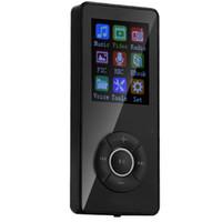 düğme çalar toptan satış-SOONHUA 5 Düğme 1.8 inç MP3 Çalar MP4 Mini Müzik Media Player Taşınabilir Ses Video Oynatıcılar