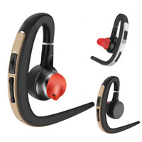 gancho para la oreja universal al por mayor-S30 Auriculares inalámbricos Bluetooth Auriculares Manos libres Bluetooth de oficina con micrófono Control de voz Música Auricular Auricular en la conducción deportiva