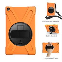 Wholesale amazon tablets for sale - Group buy Kids Safe Silicone Shockproof Case with Shoulder Strap and Wrist Strap for Amazon Kindle Fire HD Tablet