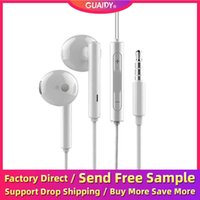Wholesale iphone ear jack plug for sale – best Earphone In Ear Line Control Mobile Phone Music Game Universal Wired Stereo Headset mm Headphone Plug Jack Sport Microphone For iPhone