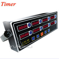 Wholesale Commercial Kitchen Timer Eight Channel Multi function Reminder Countdown Timer Burger Shop CAL B