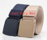 hombres originales cinturones de diseño al por mayor-Just Box for Belt cinturones de diseño marca cinturones de moda para hombres mujeres cinturón de cuero de marca de alta calidad solo caja original