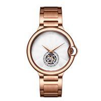 Wholesale modern watches online - New Fashion Watch Flywheel High Quality Neutral Men s and Women s Lovers Watches Luxury modern watch mm Casual quartz Wristwatch