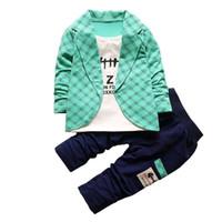 502a96a40d0d cute boy clothes toddlers Canada - good quality Autumn Newborn baby boys  clothing set toddler boy