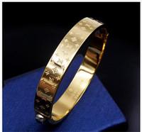braceletes de bebê de ouro 18k venda por atacado-Marca de qualidade superior 316L titanium aço pulseira com cor preta para o homem pulseira em 5.7 * 4.9 cm moda jóias de presente de casamento PS6260A