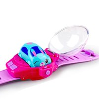 Wholesale electric toy rabbit for sale - Group buy Silverlit styles Watch remote control car MY LIL RACEBAND Rabbit Dog Cat Shaped cars Intelligent Watch LA99