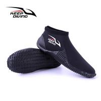 botas rapidas al por mayor-GUARDAR BUCEO Zapatos para el agua Secado rápido Zapatillas sin cordones Botas de buceo Zapatos para surfear en la playa Conducir nadar Canotaje Kayak Neopreno