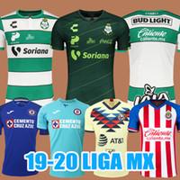 kulüp forması toptan satış-2019 CLUB CHARLY Santos laguna Futbol Forması Ev 19/20 LIGA MX 2020 Kiti Formaları Pachuca UNAM Necaxa futbol formaları Üniforma