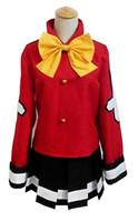 trajes de hadas xxl al por mayor-Fairy Tail Wendy Marvell Red Fairy Cosplay vestido negro