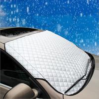 cuerpo de fibra de carbono al por mayor-Cubiertas del automóvil Parabrisas de alta calidad Ventanilla del automóvil Cubiertas de la sombrilla de la ventana automática Parabrisas reflectante del parabrisas para SUV y ordinarios