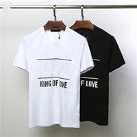 nuevas mujeres de la llegada camisetas al por mayor-Moda para hombre T Shirt Mujeres Hombres Camisetas Nueva llegada Verano Fresco Camiseta Casual Mens Tees Venta caliente Szie M-2XL