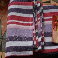 lila tischgewebe großhandel-Preis der Fabrik 10pcs !! 40 * 60cm purpurrote Hochzeits-Servietten-Tuch-Servietten / Gewebetafelservietten Freies Verschiffen