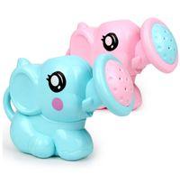 plastikelefanten spielzeug großhandel-Plastikbaby-Elefant-Dusche, die Spielwaren badet, schwimmen beatch Spielspielwaren für rosa / blaue Elefantspielwaren des Kleinkindes für das Spielen des Wassers