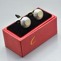 boutons de manchette noirs achat en gros de-haute qualité voiture argent - or rose - or - noir chemise chemise bouton de manchette prix de gros de la mode boutons de manchette en cuivre pour le festival homme