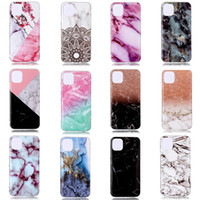 Wholesale soft gel case online – custom Marble Soft TPU IMD Case For Iphone New Samsung Note Pro Natural Granite Stone Rock Luxury Fashion Gel Phone Cover