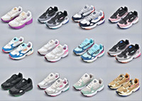 günstigste laufschuhe groihandel-Adidas Falcon W running shoes 2019 NEU Hohe Qualität Niedriger Preis FALCON W Männer und Frauen Laufschuhe, Mode Sport Freizeitschuhe Größe 36-45